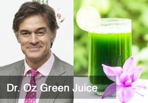 Dr. Oz Green Juice by @BlenderBabes