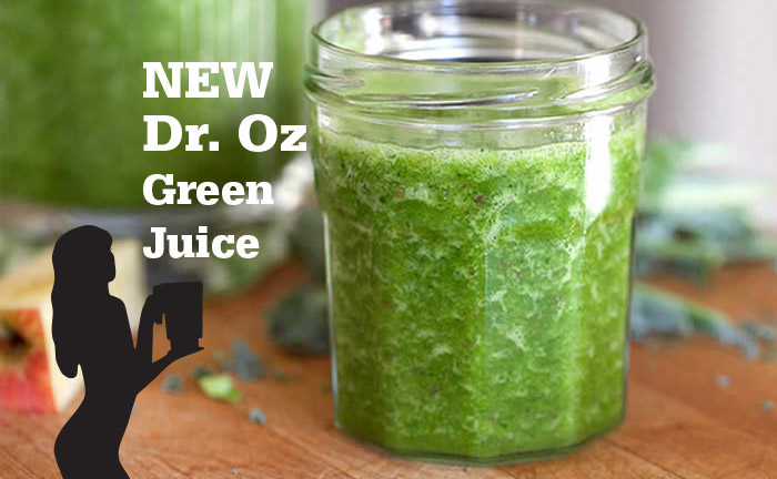 New Dr. Oz Green Juice by @BlenderBabes