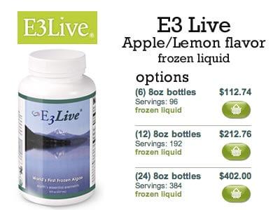 E3Live Apple and Lemon