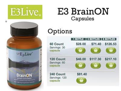 E3live BrainON