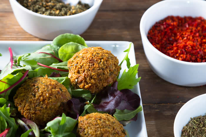 Low Calorie Vegan Falafel Recipe