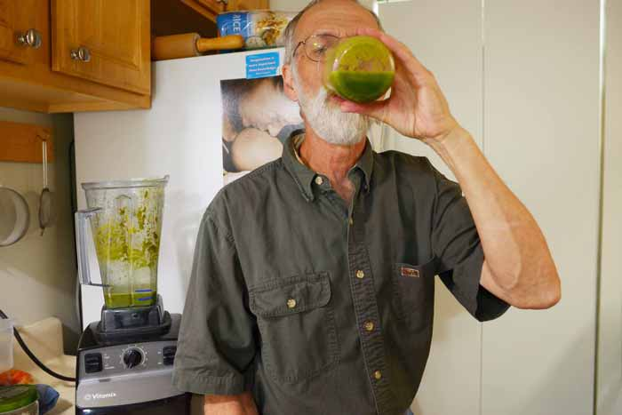 Surviving Cancer Ed Duerr Transformation Green Juice