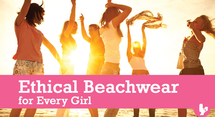 Ethical Beachwear for Every Girl | Swimsuits Bags Sunglasses via @BlenderBabes