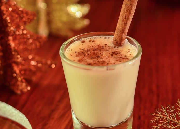 Foxy Nog Eggnog Recipe by @bitbyafox via @blenderbabes