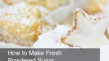 How to Make Fresh Powdered Sugar by @BlenderBabes