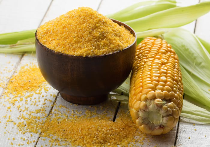 Fresh cornmeal