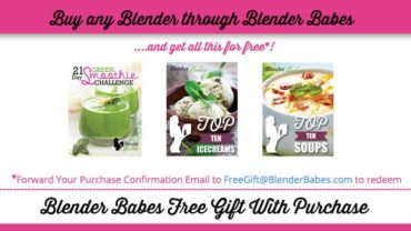 Blender Babes Free Gift With Blender Purchase
