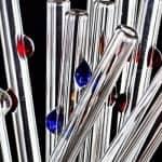 Glass Dharma Straws with the dot
