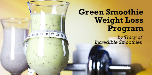 Green Smoothie Weight Loss Program with Recipes via @BlenderBabes