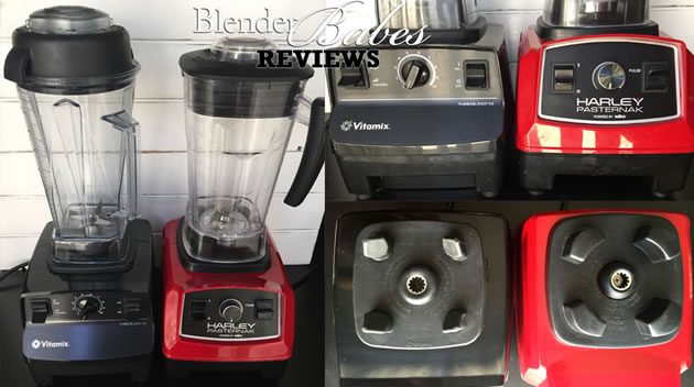 Harley Pasternak vs Vitamix Design Comparison by @BlenderBabes