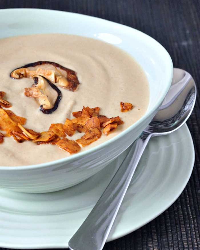Easy Blendtec and Vitamix Soup Recipes That You Can Make In Any Blender Mushroom Bisque Soup