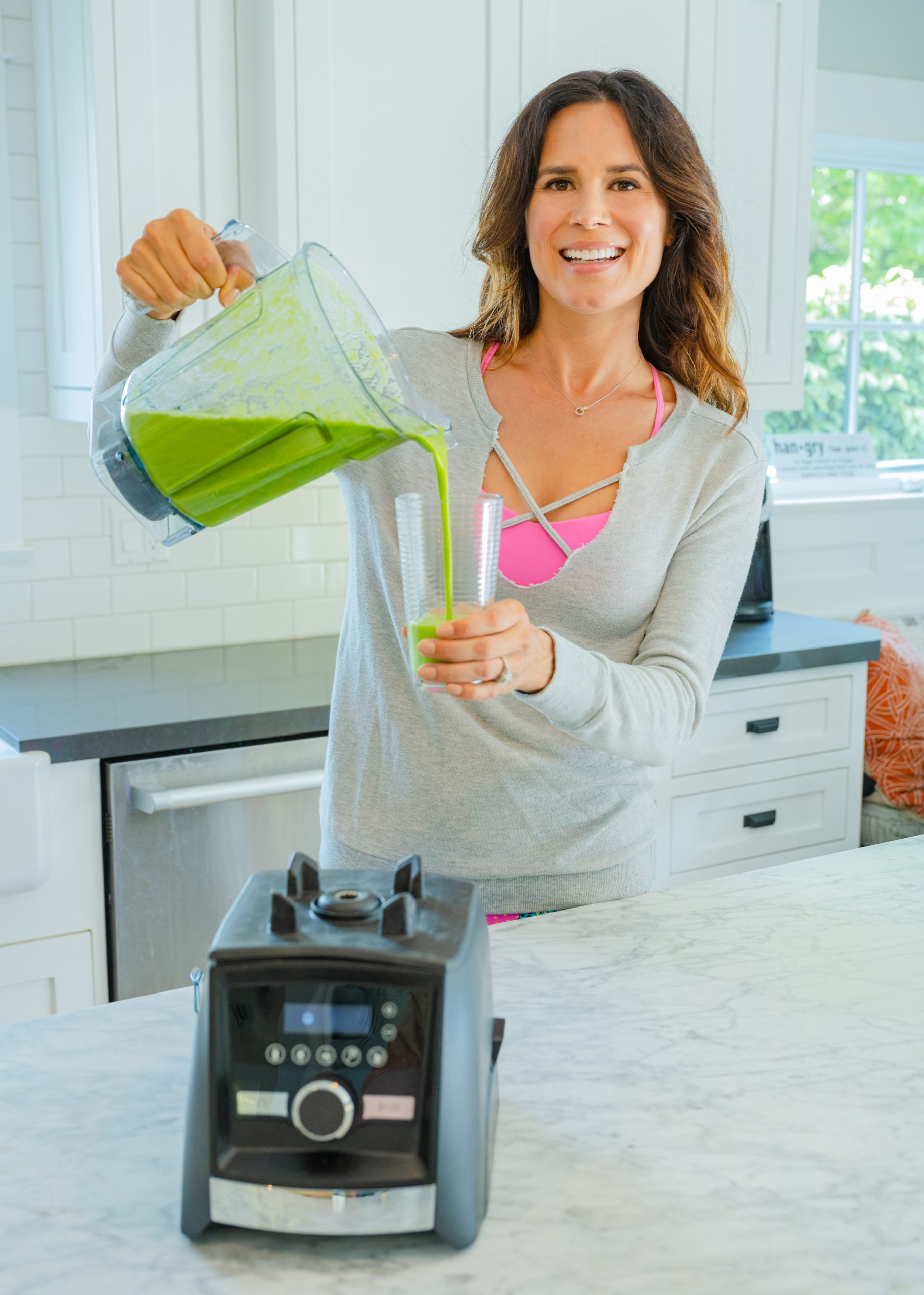 Tarashaun Green Smoothie vitamix