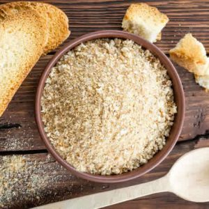 Homemade Bread Crumbs Recipe made in your Blendtec or Vitamix by @BlenderBabes