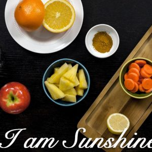 @BlenderBabes Juice Cleanse Detox Drink 1 I AM SUNSHINE