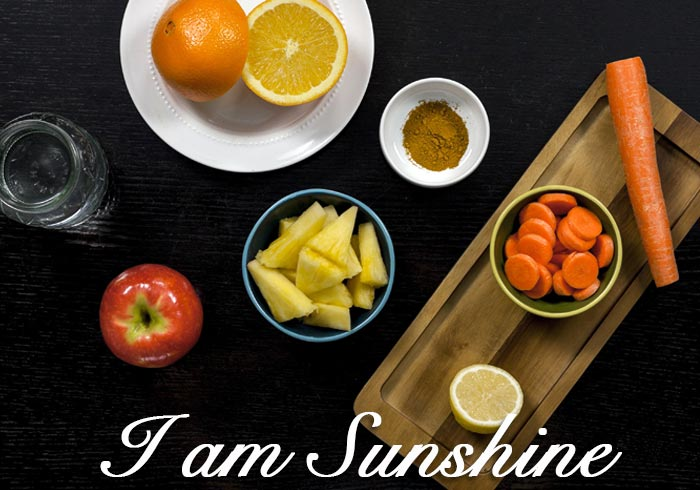 Juice Detox Drink 1 ~ I AM SUNSHINE