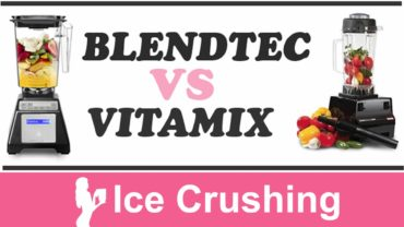 Blendtec vs Vitamix Ice Crushing The Blender Babe Reviews