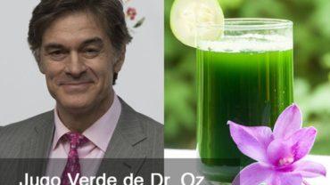 Jugo Verde de Dr. Oz @BlenderBabes