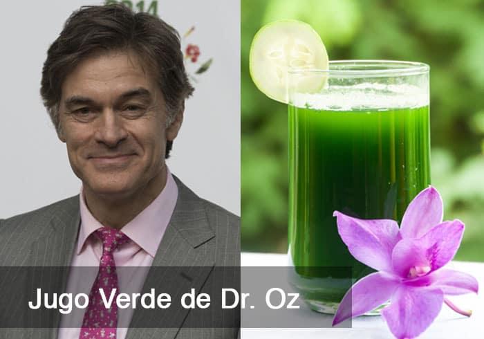 Jugo Verde de Dr. Oz