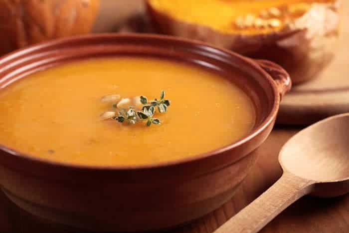 Kabocha Squash Cashew Soup Recipe