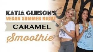 Katja Glieson's Vegan Caramel Green Smoothie Recipe via @BlenderBabes