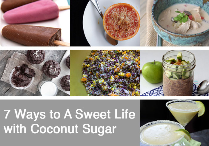 7 Ways to A Sweet Life with Coconut Sugar