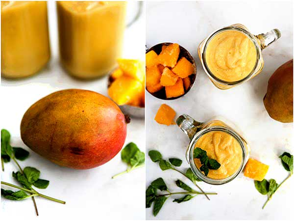 Mango White Bean Smoothie - Smoothies Without Bananas