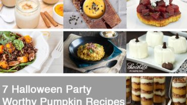 7 Halloween Party Food Recipes by @BlenderBabes