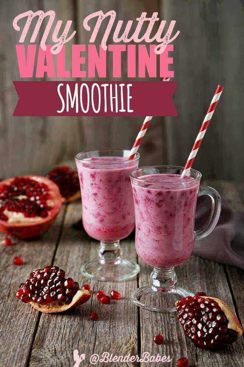 My Nutty Valentine's Day Smoothie Recipe from @BlenderBabes