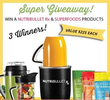 NutriBullet Rx SuperFoods Giveaway