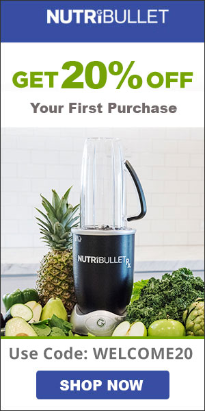 NutriBullet Promo Code Welcome20