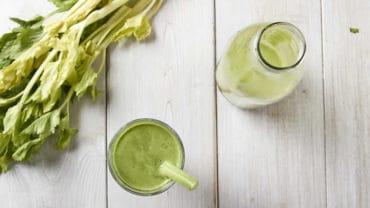 Natural Energy Green Juice made in your Blendtec or Vitamix Blender by @BlenderBabes
