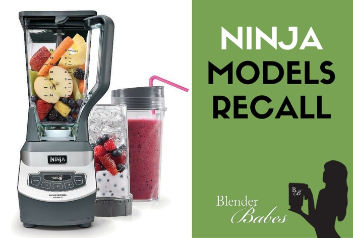 Latest Ninja Recall Demonstrates Potential Dangers of Using a Blender