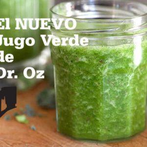 El Nuevo Jugo Verde de Dr. Oz @BlenderBabes