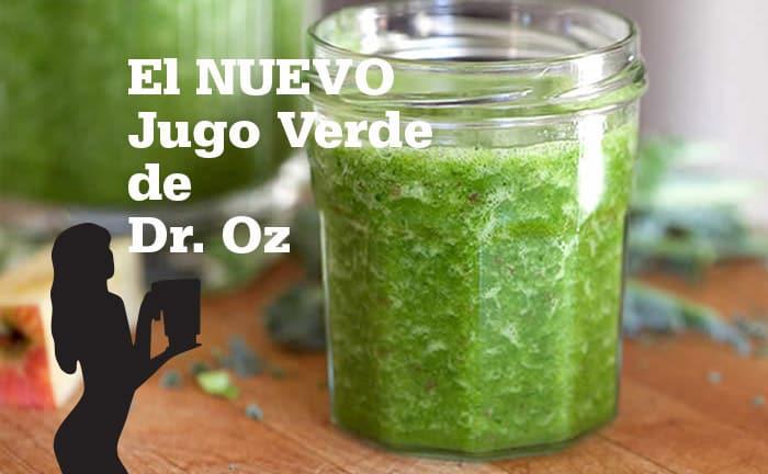 El Nuevo Jugo Verde de Dr. Oz