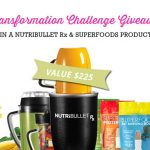 Tranformation Challenge win a power blender