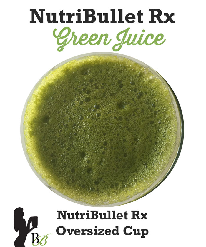 Nutri Ninja vs NutriBullet Rx Green Juice Test by @BlenderBabes