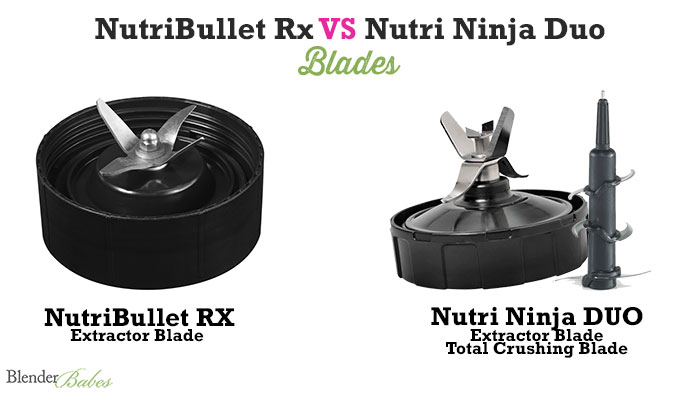Nutri Ninja vs NutriBullet Rx Review by @BlenderBabes