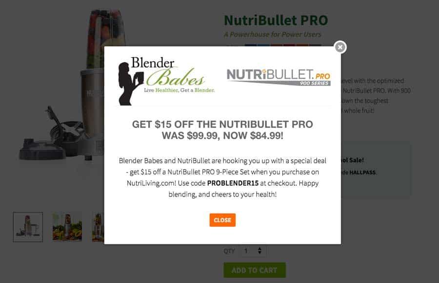 NutriBullet PRO Sale