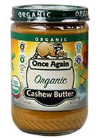 Once Again Cashew Butter Organic Natural & Organic Product Copmany Favorites at Natural Product Expo by @BlenderBabes