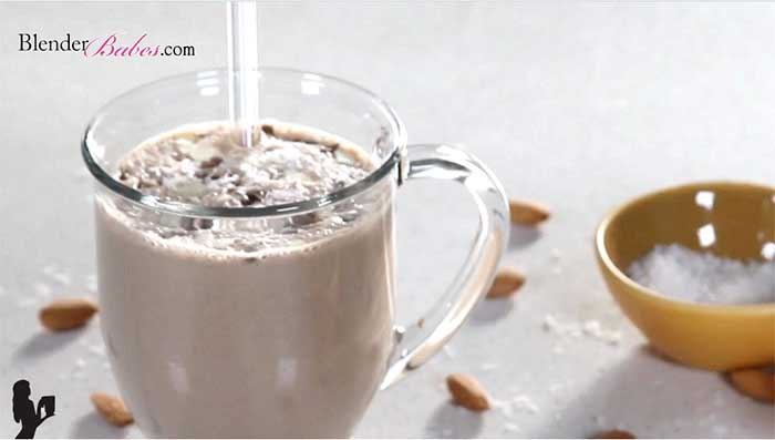 Vegan Smoothies That Taste Like Milkshakes - Almond Joy Smoothie