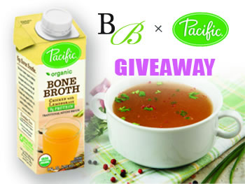 Pacific Foods New Bone Broth Giveaway
