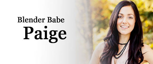 Meet Blender Babe Paige