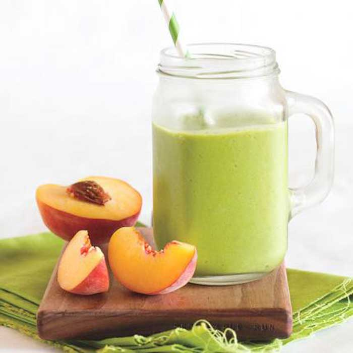 Smoothies for Kids - Peachy Green Smoothie