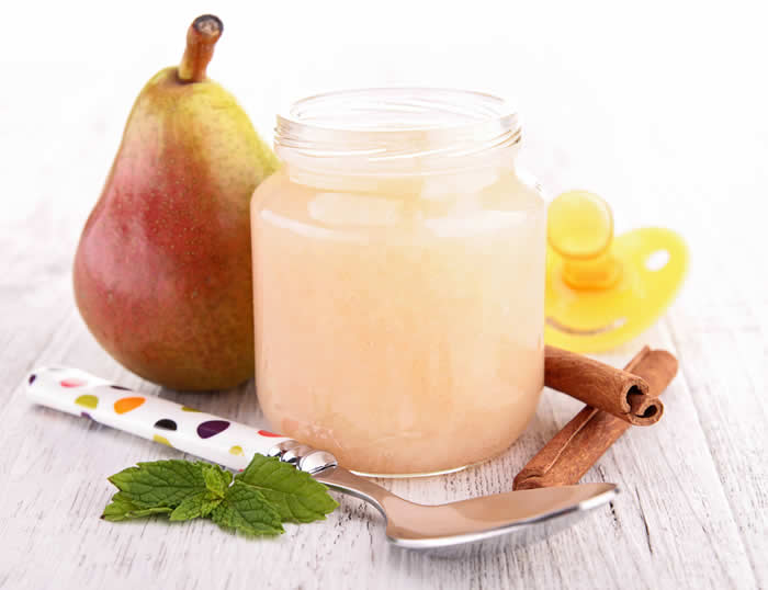 Pear Applesauce Baby Food Recipe