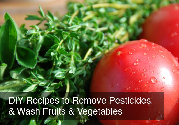 DIY Recipes to Remove (Some) Pesticides & Wash Fruits & Vegetables