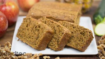 Pineapple Zucchini Bread Recipe by @Blendtec via @BlenderBabes