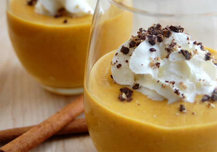 Pumpkin Mocha Custard Dessert (Low Carb, High Protein)
