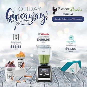 Holiday Vitamix Giveaway