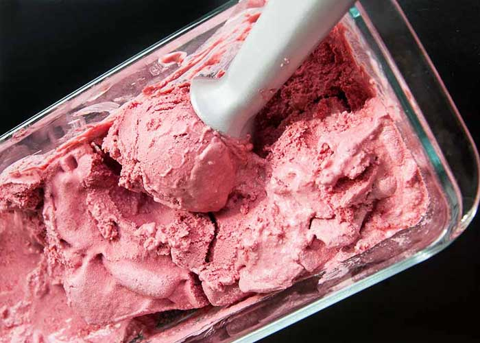 Blendtec and Vitamix Ice Cream Recipes | Raspberry Coconut Vegan Ice Cream