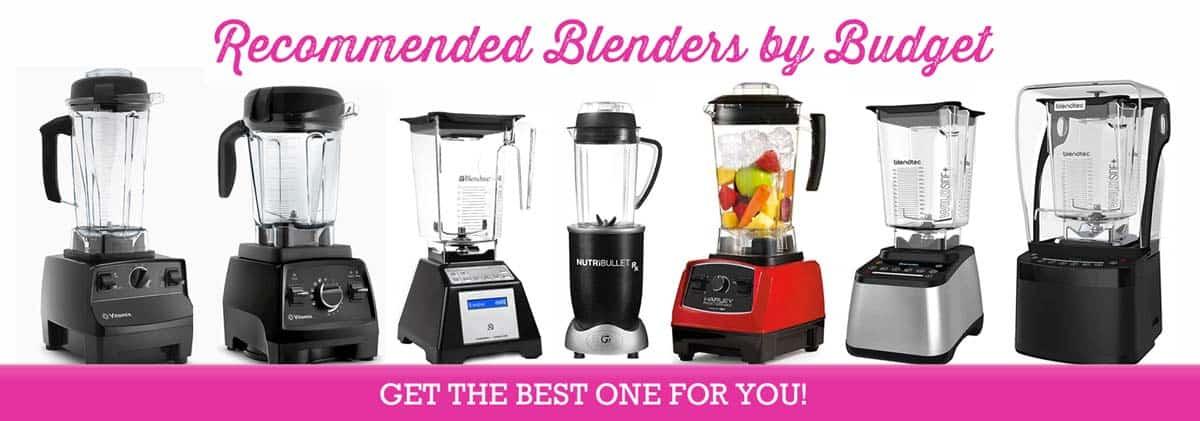Best Blender For Smoothies - Recommended Blenders